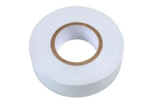 Connect 36894 White PVC Insulation Tape 19mm x 20m Pk 1